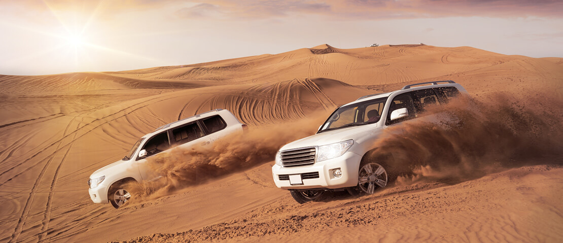 Top Five Places to Visit in Dubai With Your Rental Car
